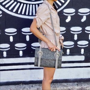 Finola Vintage Crossbody - Gray